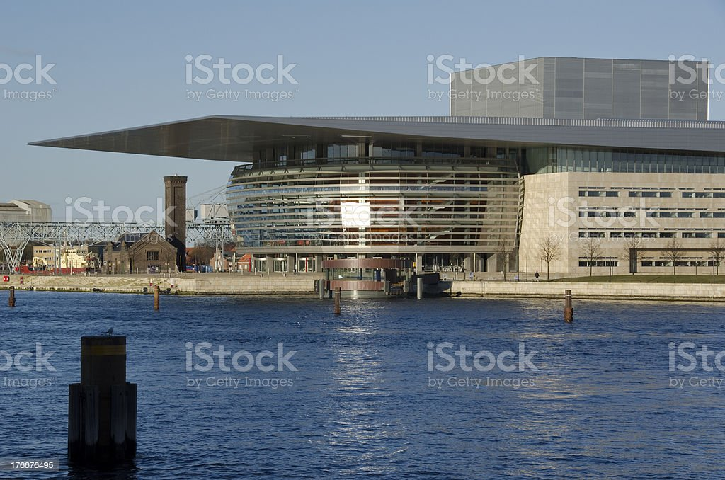 Copenhagen Opera House royalty-free stock photo