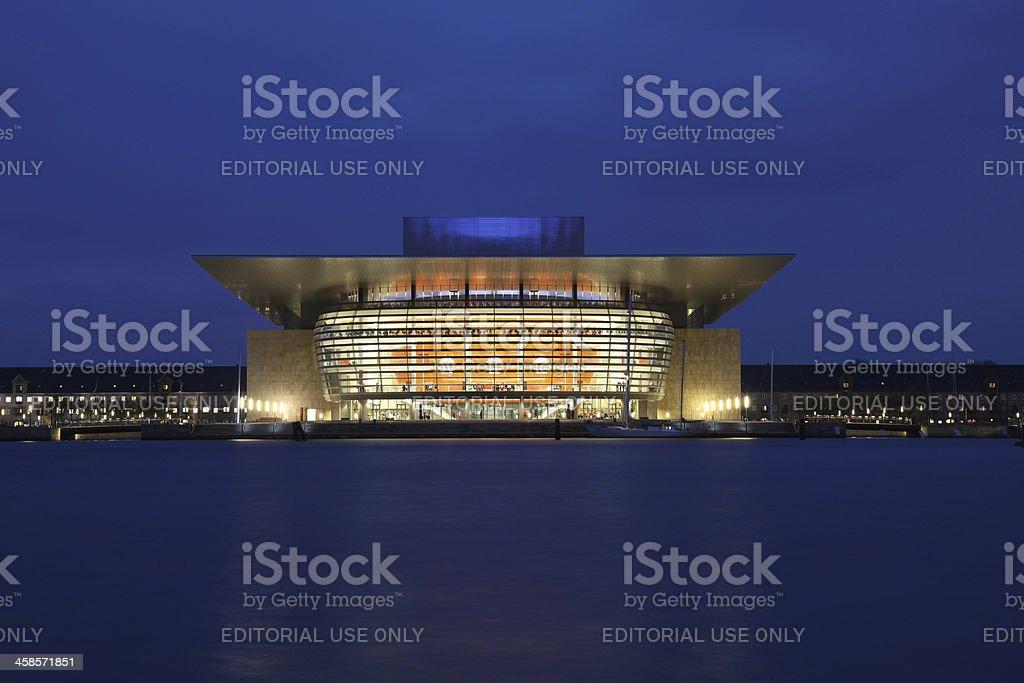 Copenhagen Opera royalty-free stock photo