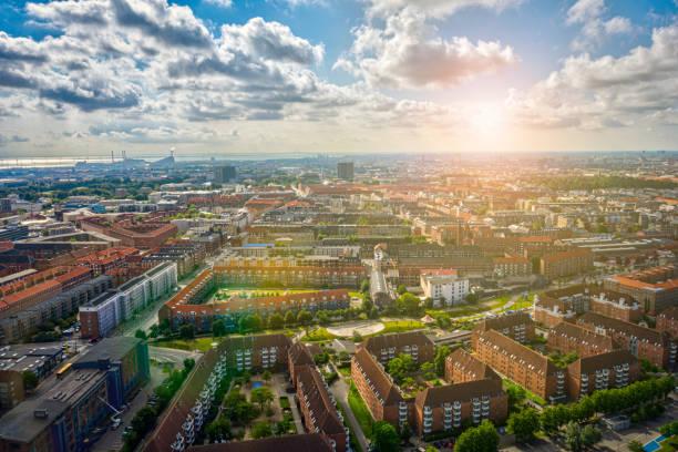 köpenhamn - drone copenhagen bildbanksfoton och bilder