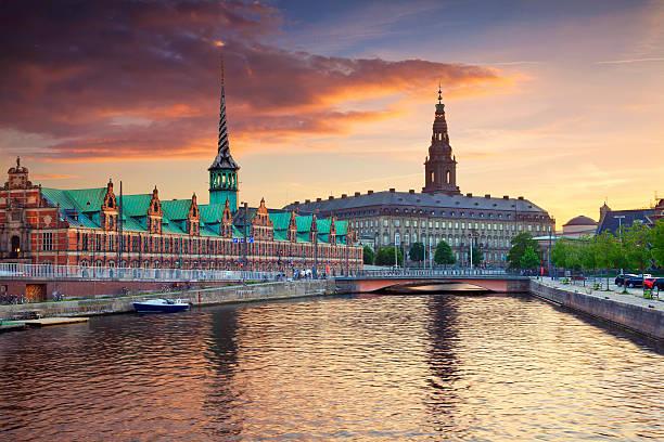 Copenhagen. stock photo