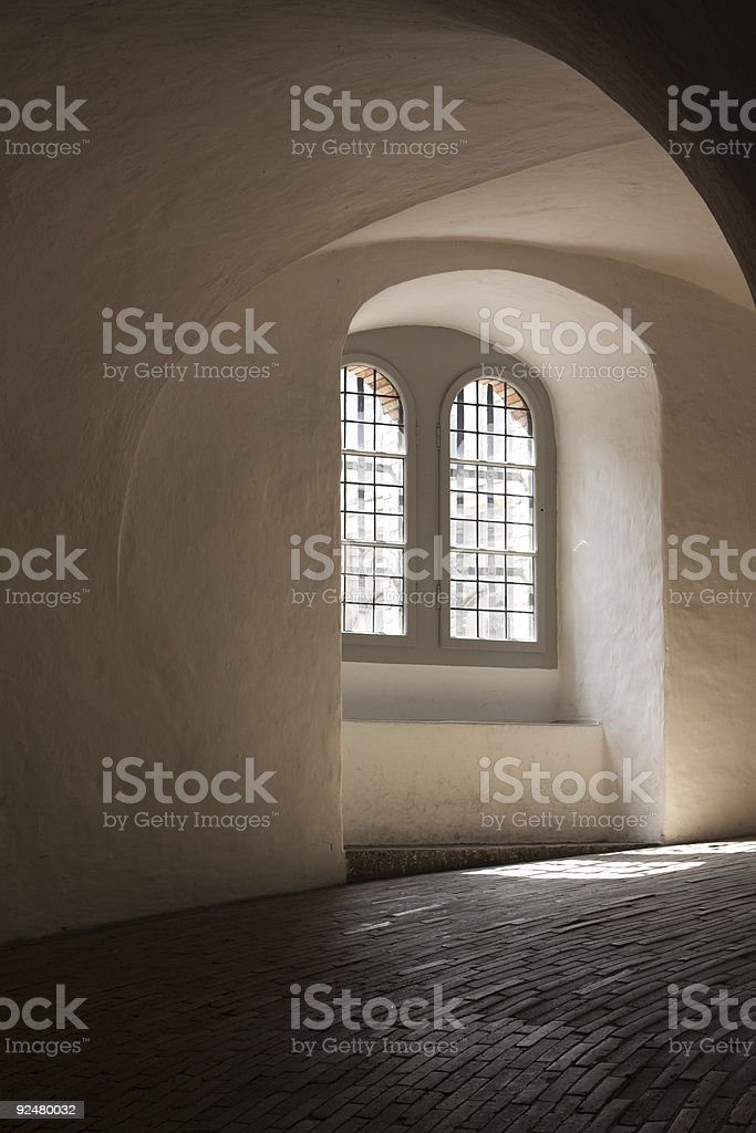 Copenhagen Round Tower royalty-free stock photo