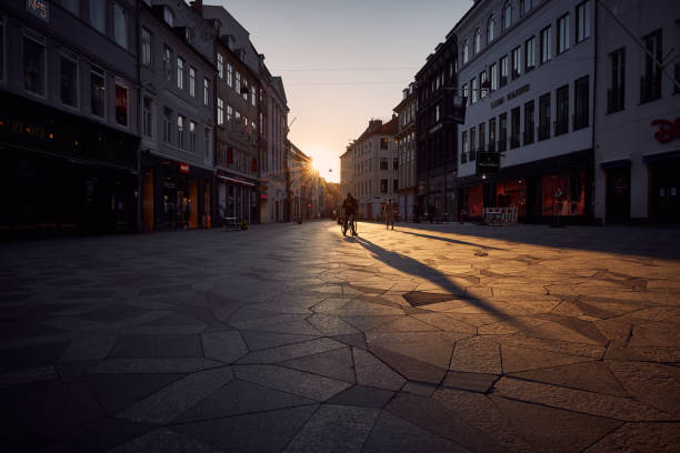 Copenhangen Without People stock photo