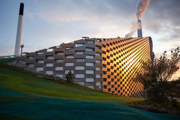 Copenhill stock photo