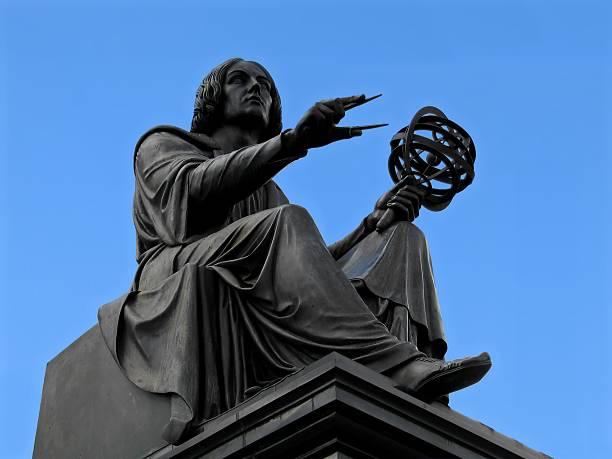 Kopernikus-statue in Warschau – Foto