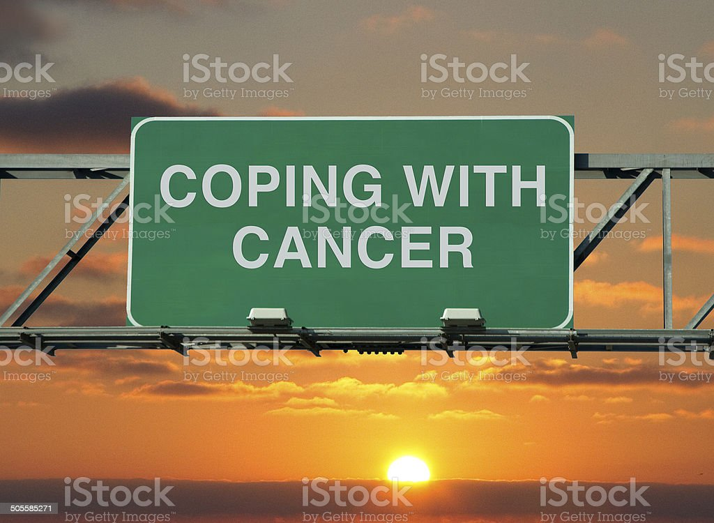 Coping With Cancer stock photo