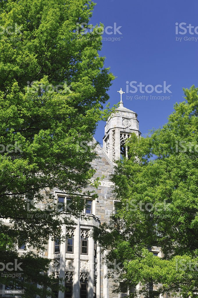 Copley Hall in Georgetown University stock photo