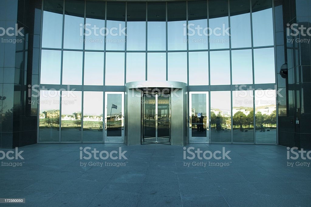 Coporate Building royalty-free stock photo