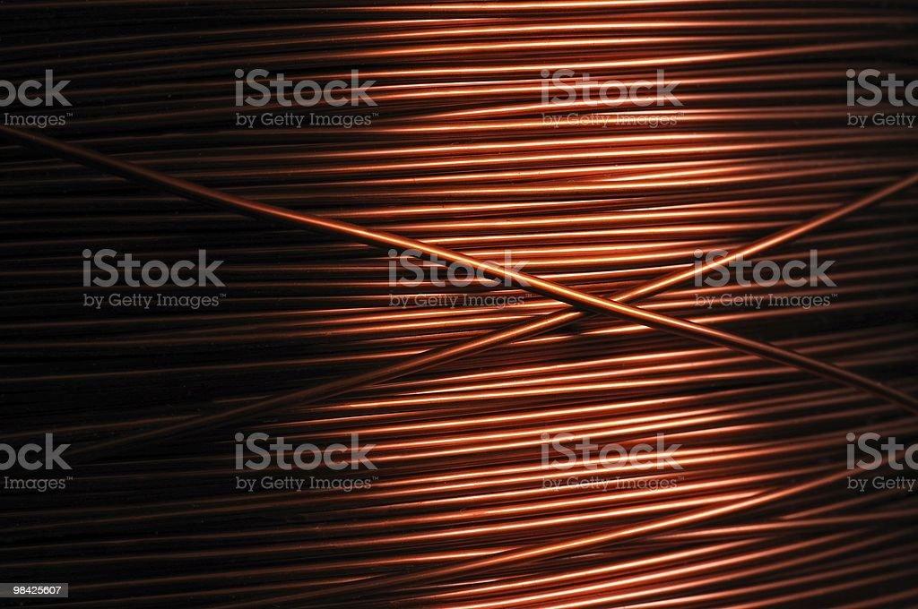 Copper backgrounds royalty-free stock photo
