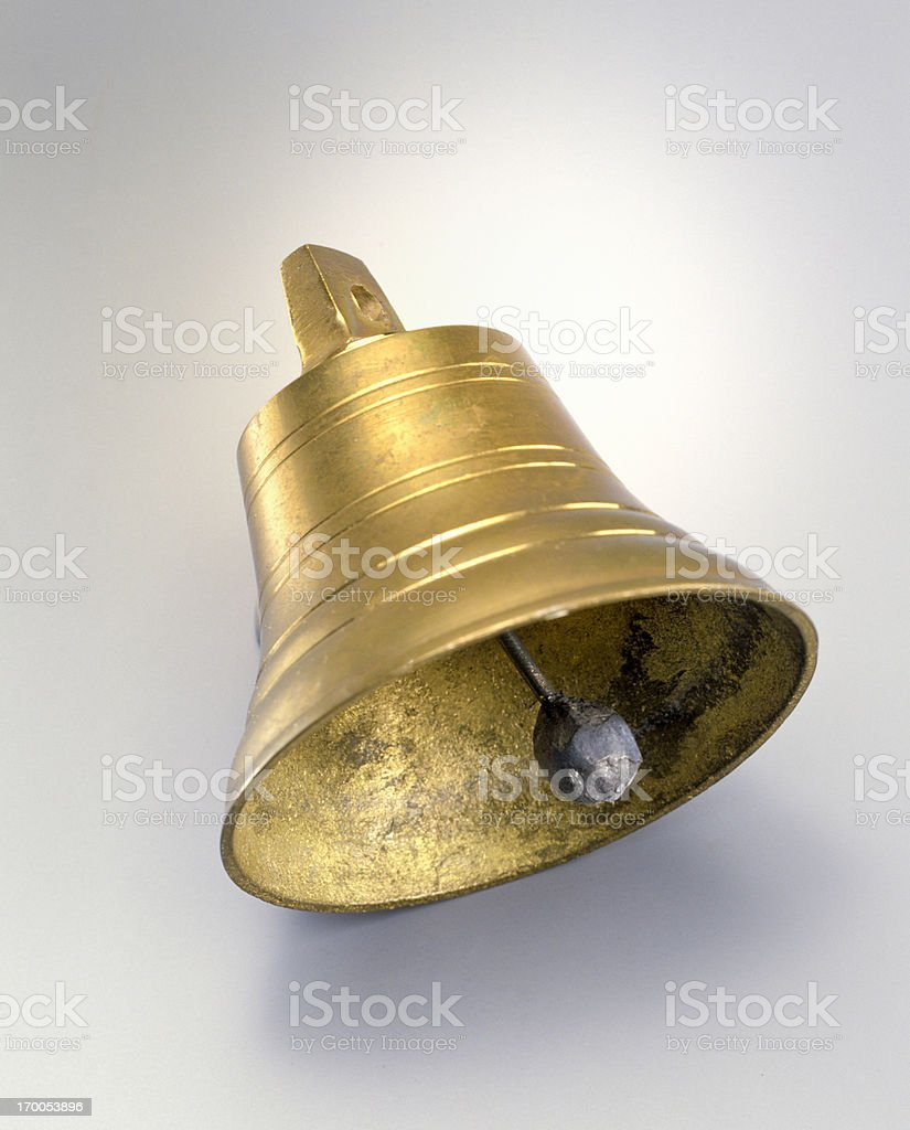 copper bell stock photo