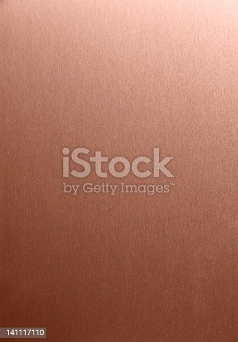 Brushed copper texture - metal background - very high resolution. More like this in my portfolio