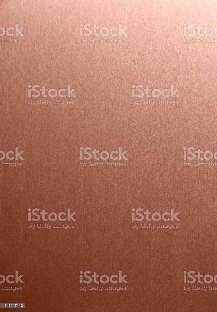 Copper Brush stock photo