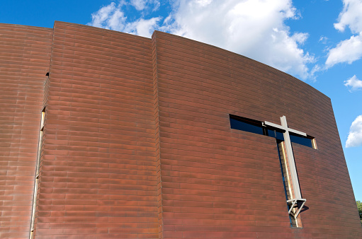 Copper Clad Chapel Exterior Stock Photo - Download Image Now