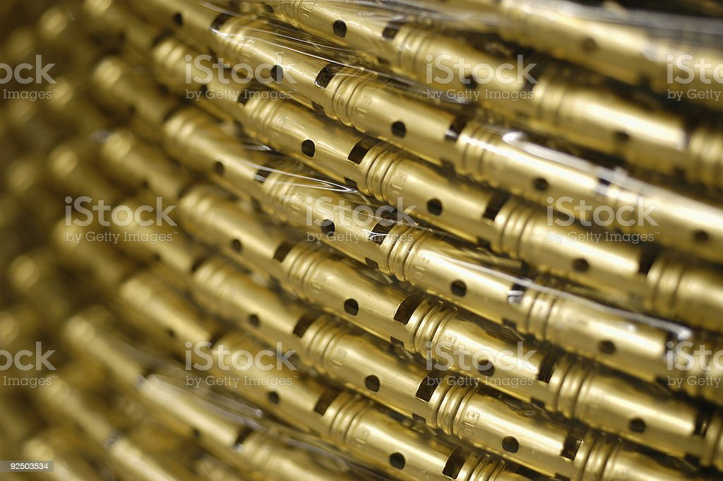 copper connectors royalty-free stock photo