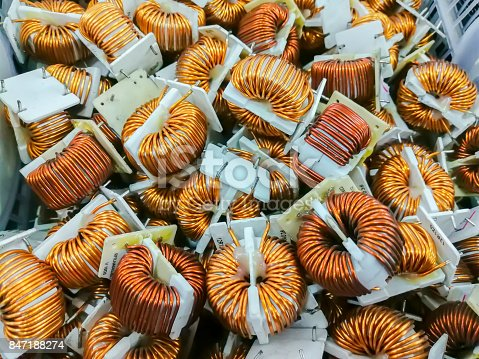 istock Copper, Electrical Component, Equipment, Machine Part, Metal 847188274