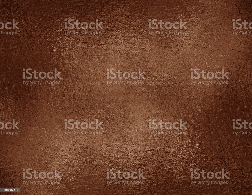 Copper foil textured background. Bronze grunge texture for graphic design, wrapping paper sample. stock photo