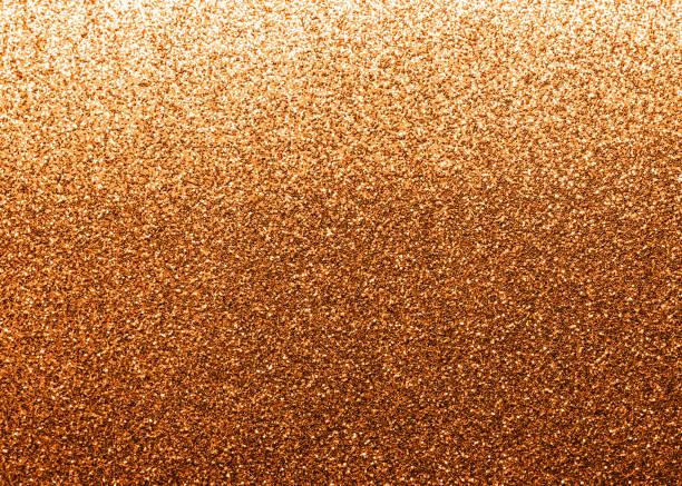 銅金色閃光紋理背景聖誕假期裝飾金屬背景設計項目 - 銅色 個照片及圖片檔