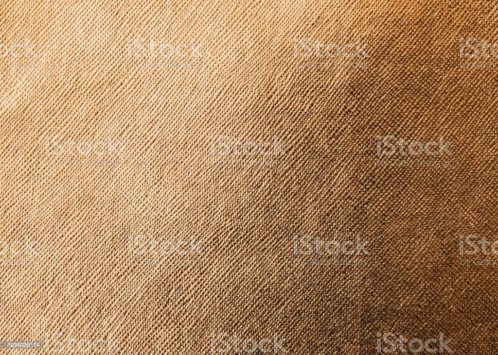 Cuivre Or Texture Feuille Papier Fond Orange Brillant Pour Elément