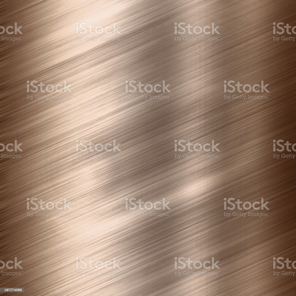 Copper gold texture stock photo