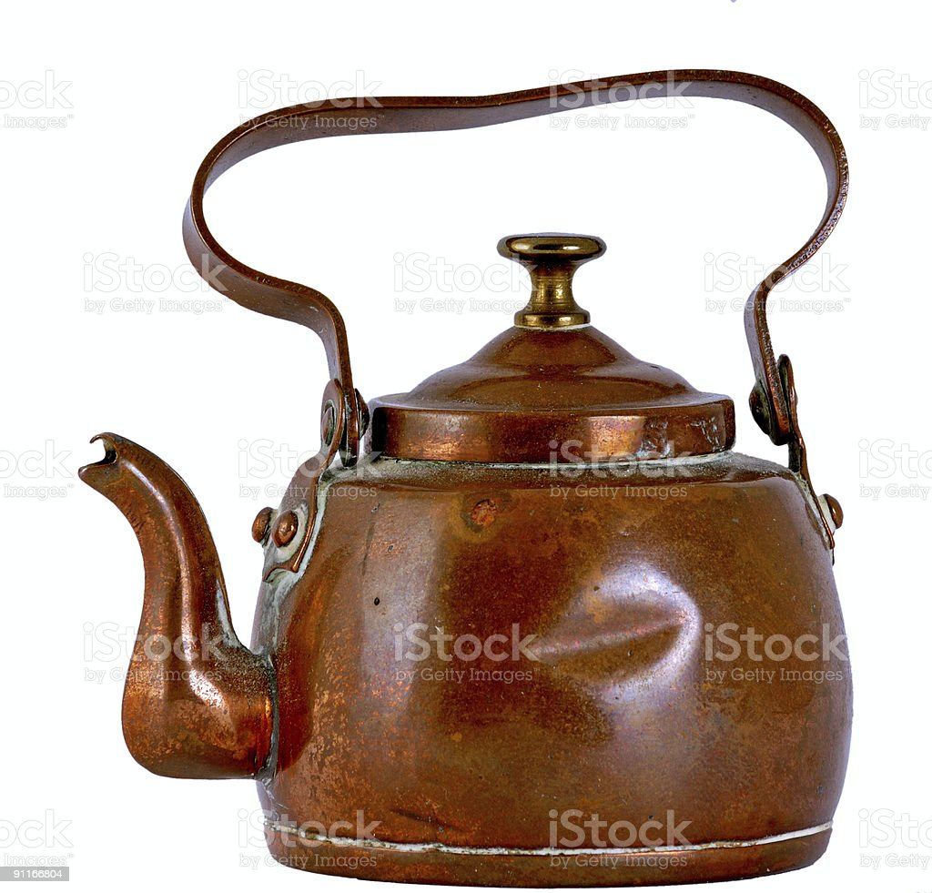 Copper Kettle stock photo
