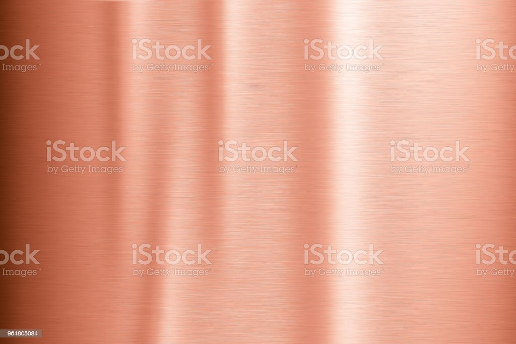 Copper metal brushed background royalty-free stock photo