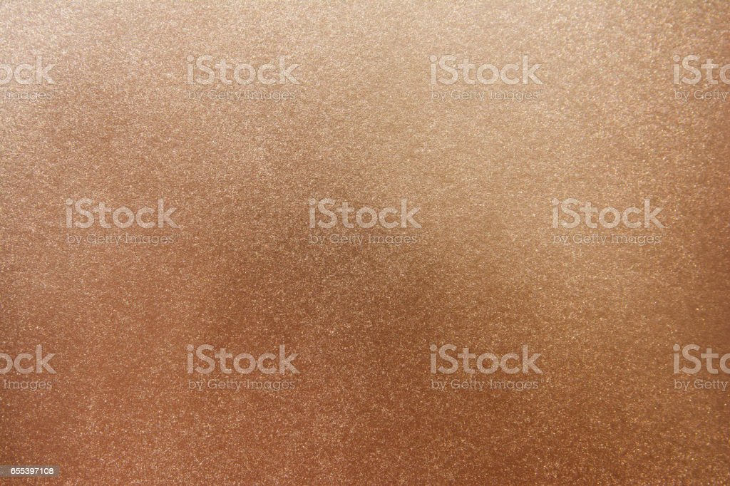 Copper metallic surface background. Copper texture background stock photo
