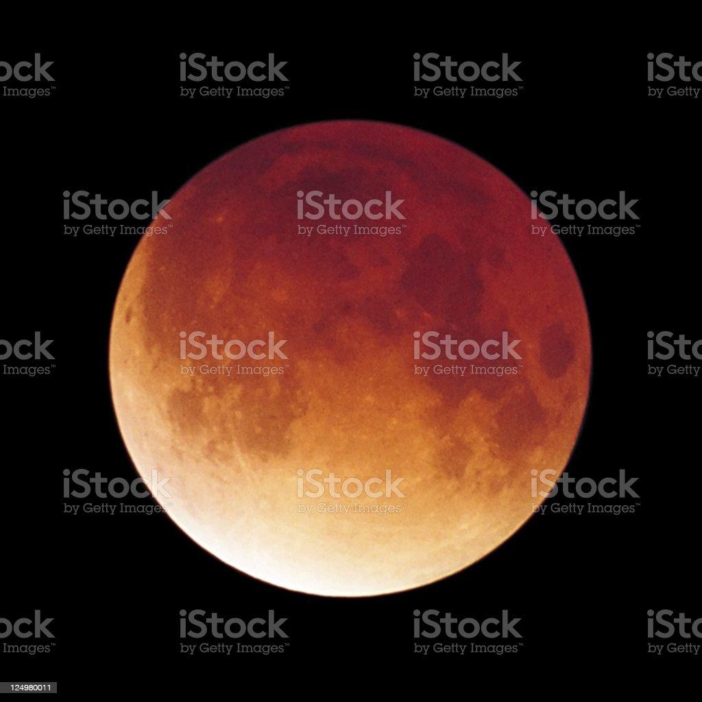 Copper Moon stock photo