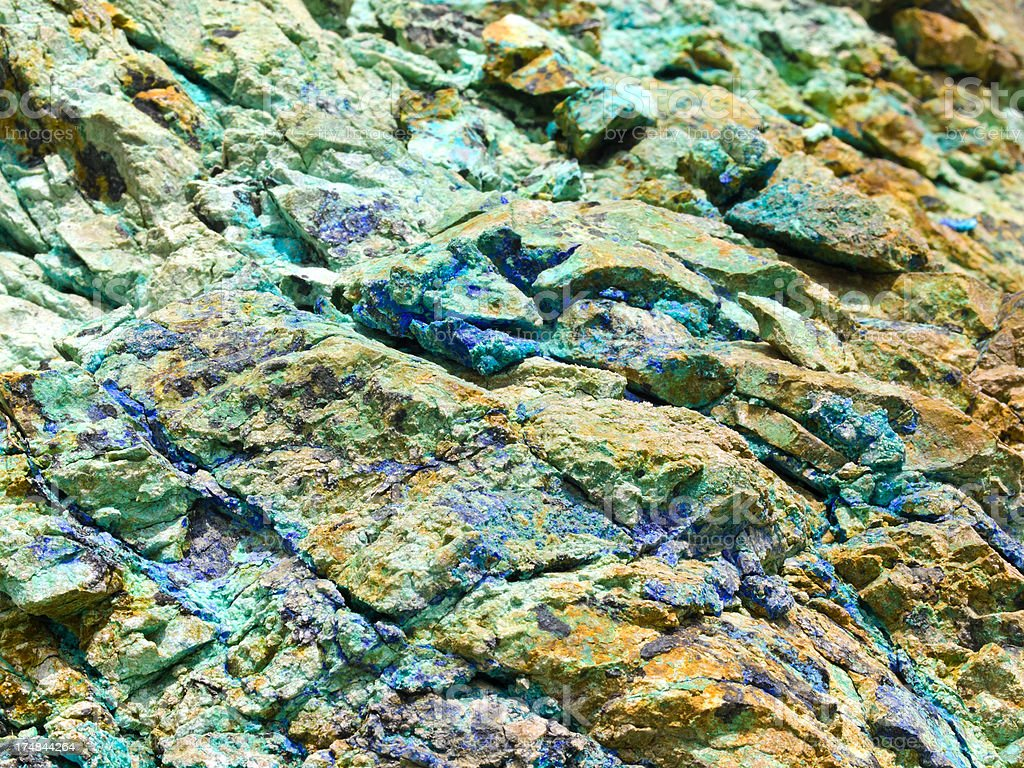 copper ore royalty-free stock photo