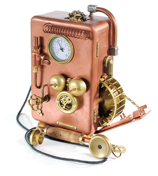 Copper Telefon. – Foto