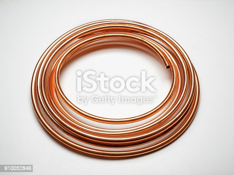 Copper Tubing Spiral