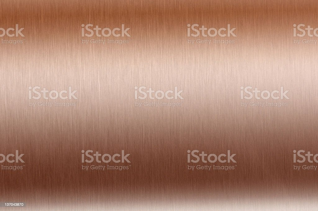 Copper plate stock photo