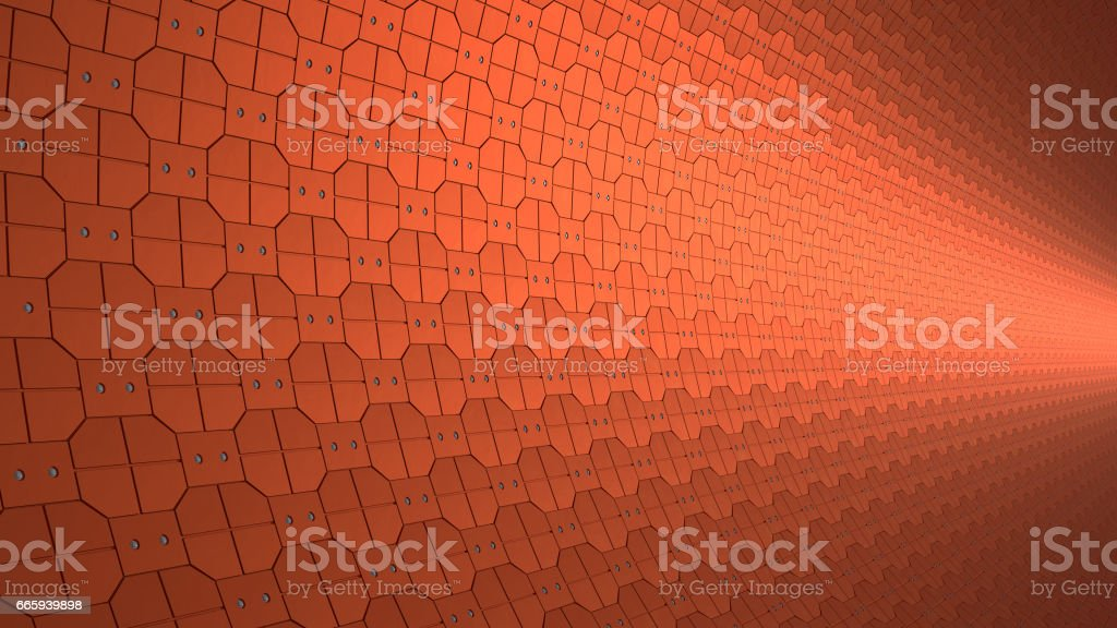 Copper plates foto stock royalty-free