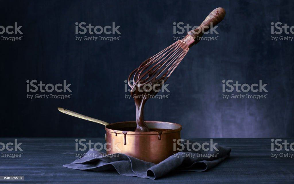 Copper Pot stock photo