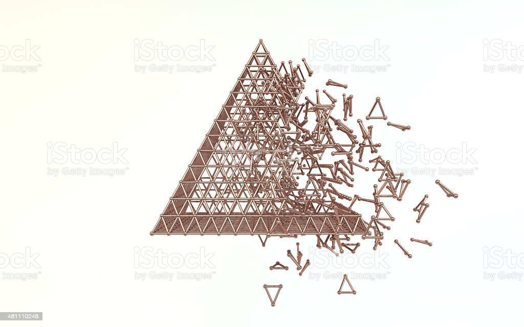 Copper Pyramid Stock Photo - Download Image Now - iStock