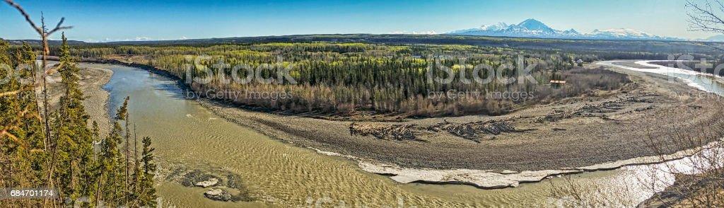 Copper River - Alaska stock photo