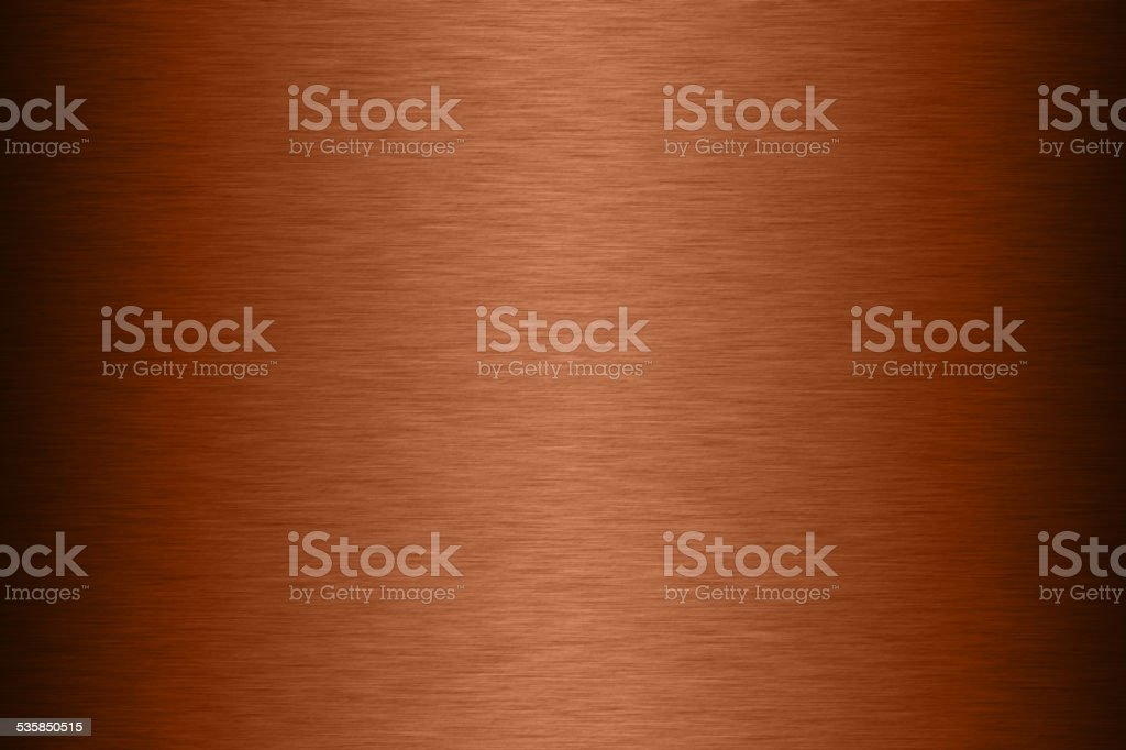 Copper steel texture background stock photo
