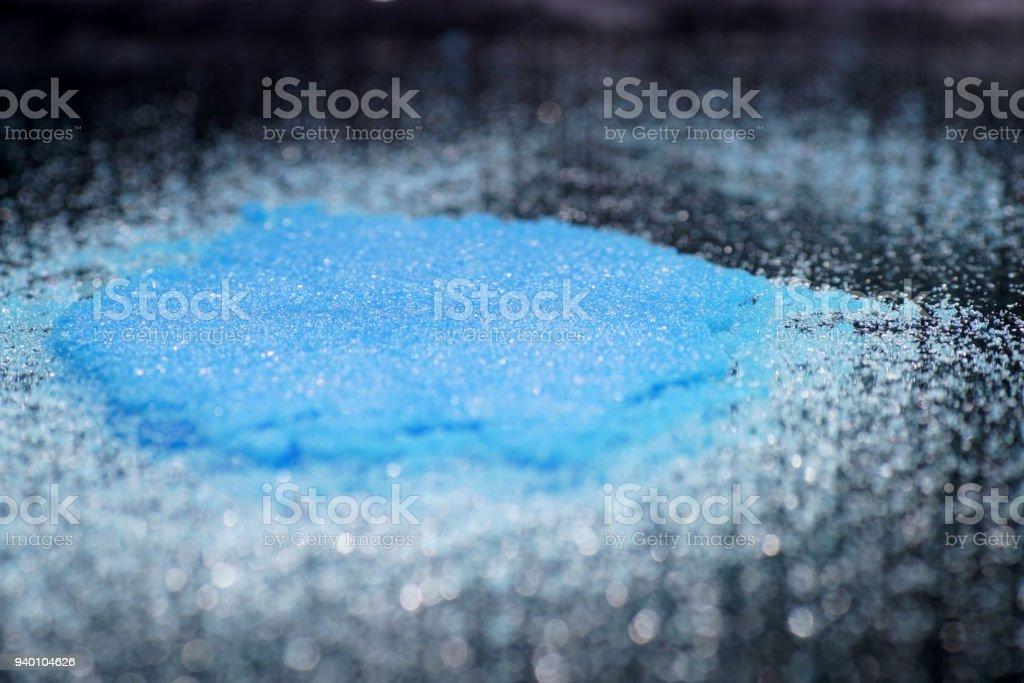 Copper Sulfate Calcium Hydroxide Copper Sulphates Stock Photo More