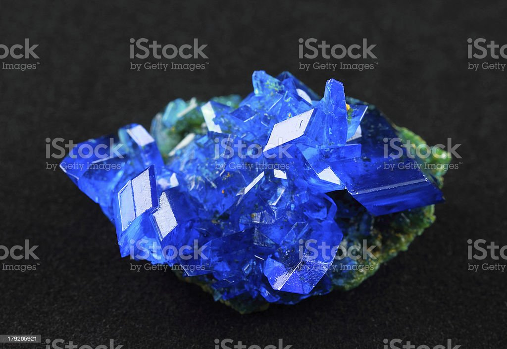 Copper sulfate royalty-free stock photo