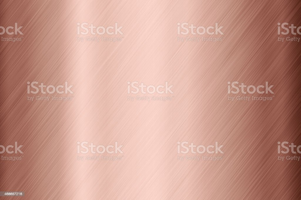 Copper surface background stock photo