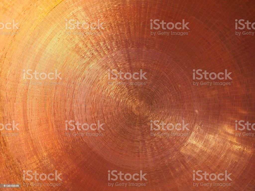 Copper Surface stock photo