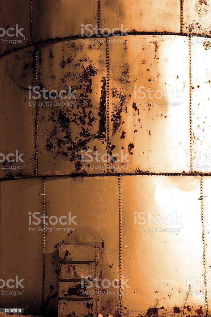 copper tank panels royalty-free stock photo