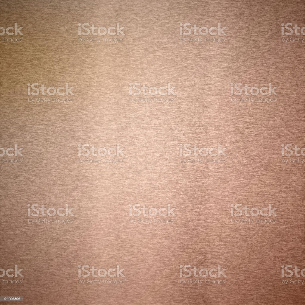 Copper texture XXL stock photo