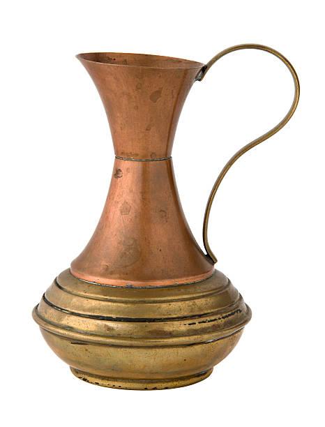 Copper Vase stock photo