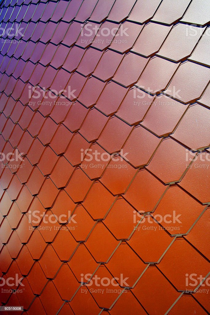 Copper Wall #3 royalty-free stock photo