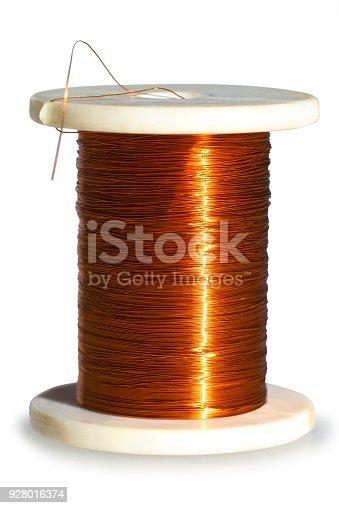 600401714istockphoto Copper wire. 928016374