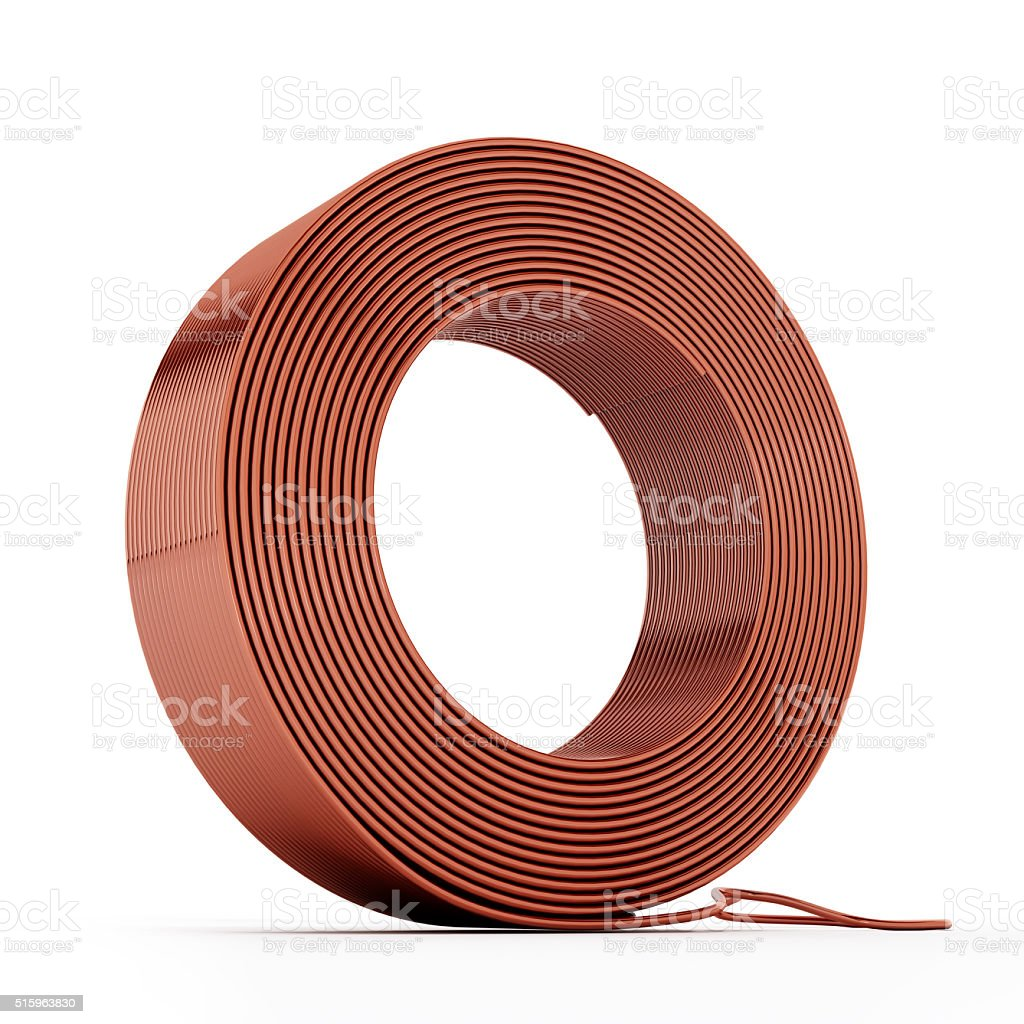 Copper Wire Spool Stock Photo & More Pictures of Business Finance ...