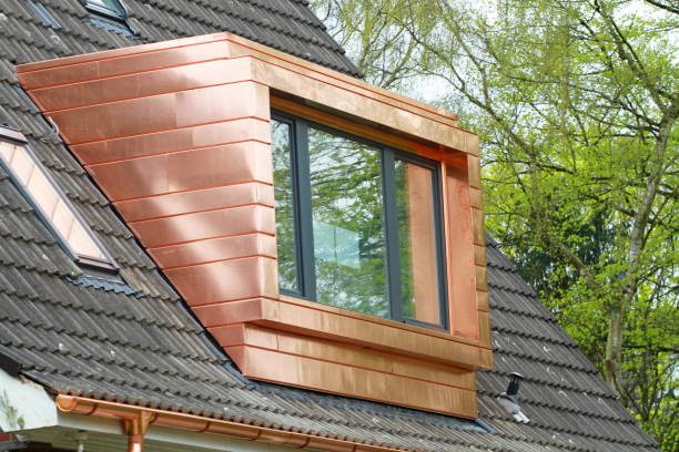 copper_dormer stock photo