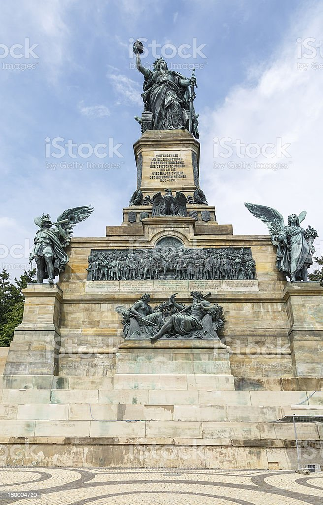 Niederwald Monument royalty-free stock photo