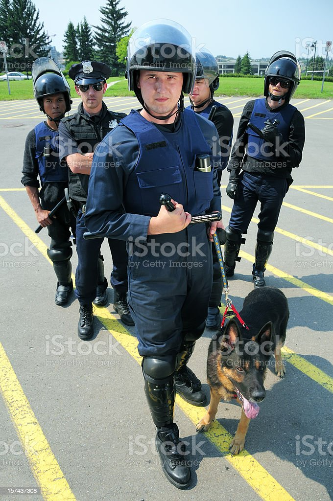 Cops royalty-free stock photo