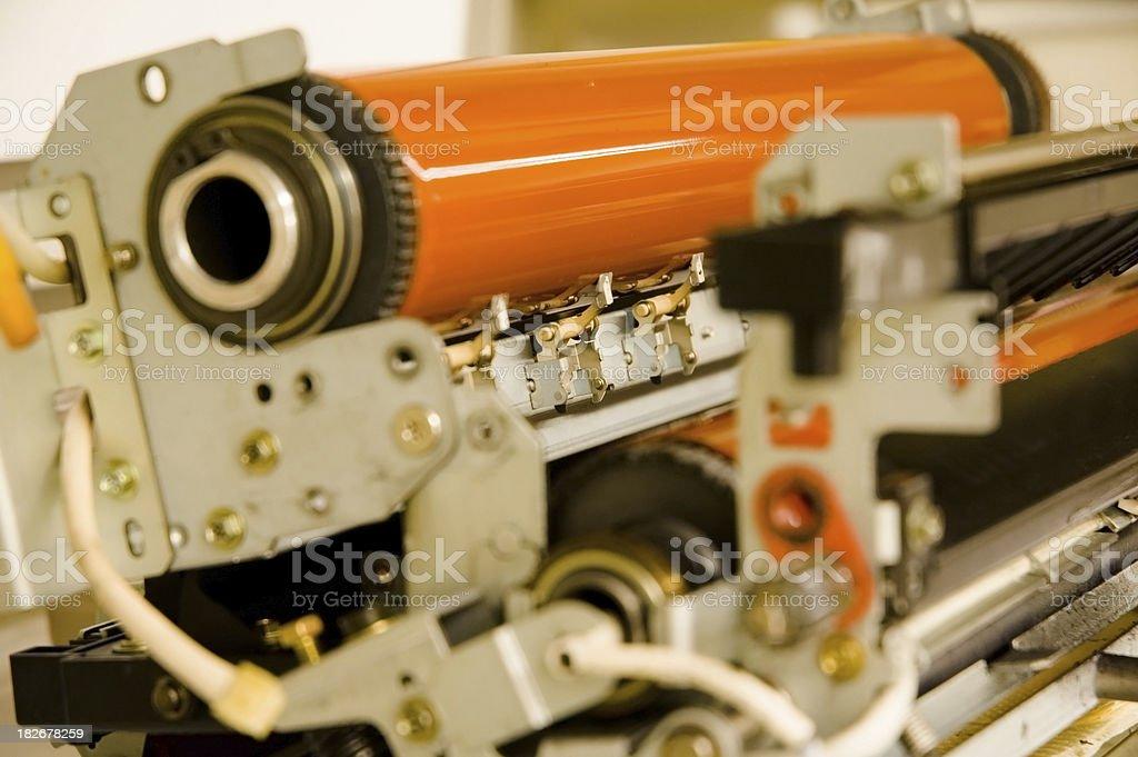 Copy Machine Parts royalty-free stock photo