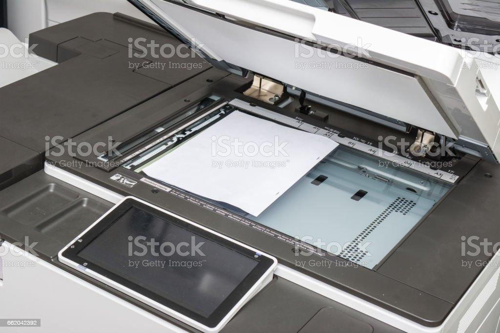 copy print machine royalty-free stock photo